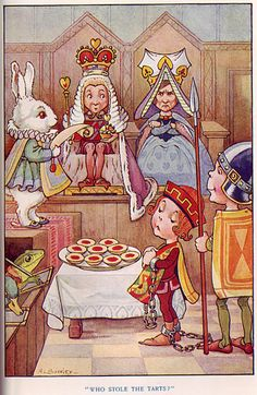 who stole the tarts?