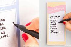 Ideas para organizar recetas y menus semanales