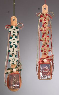 Αποτέλεσμα εικόνας για χριστουγεννιατικες κατασκευες σε ξυλινη κουταλα