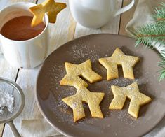 Crunch away! These keto gingerbread cookies are almost zero carb. Garnish your mug or string them up, and celebrate.