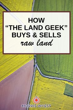 Mark walks us through the process and intricacies of buying and selling raw land. He's shares how he does market research, how to find a deal, and much Real Estate Investment Fund, Commercial Real Estate Investing, Investment Property For Sale, Investment Quotes, Investment Firms, Investment Companies, Selling Real Estate, Investing In Shares, Investing In Land