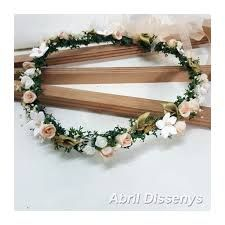 Resultado de imagen para corona de flores para el cabello Coronas De Flores  Para El Cabello a4bd590917a7
