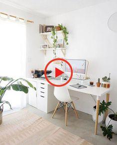 Home Office Arbeitszimmer Studie Schreibtisch Schreibtisch Wohnkultur In 2020 Diy Deko Schlafzimmer Zimmerdekoration