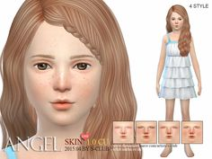 HS Angel skintone CU 1.0 by S Club at TSR image 23341 Sims 4 Updates