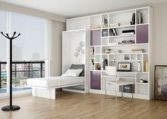 Y para cuando vayas a descansar! aparece la cama! www.minbai.com.ar