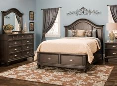 This new Acorn Hill Bedroom Set is the perfect centerpiece for ...