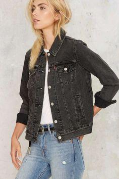 Levi's Boyfriend Trucker Denim Jacket - Clothes | Denim | Fall Essentials | Denim Jackets