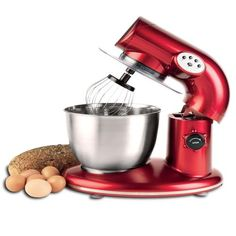 American Era 650W Stand Mixer with 6-QT Stainless Steel Bowl