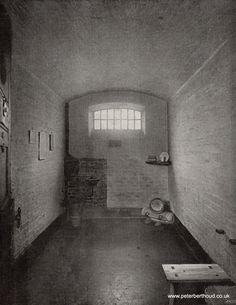 A Newgate Prison cell - 1897