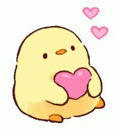 Cute Gifs, Cute Love Gif, Cute Love Memes, Arte Do Kawaii, Kawaii Art, Kawaii Room, Cute Kawaii Drawings, Cute Animal Drawings, Cute Love Drawings