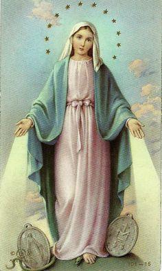Virgen de la Medalla Milagrosa ¡Oh María sin pecado concebida ruega por nosotros que recurrimos a vos!