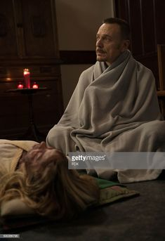 """Hannah Kasulka and Ben Daniels in the """"Father of Lies"""" episode of THE EXORCIST airing Friday, Nov. 11 on FOX. Get premium, high resolution news photos at Getty Images Ben Daniels, Tv Series 2016, The Exorcist, Films, Father, Friday, Angel, Fantasy, Writing"""
