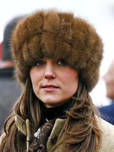 From Russia, with love ... Kate at the Cheltenham Festival in Gloucestershire