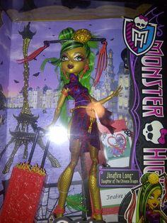 Monster High Guide: Jinafire Long