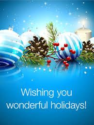 Send Free Wish You Have Happy Holidays - Season's Greetings Card to Loved Ones on Birthday & Greeting Cards by Davia. It's free, and you also can use your own customized birthday calendar and birthday reminders. Christmas Card Sayings, Merry Christmas Card, Merry Christmas And Happy New Year, Christmas Quotes, Blue Christmas, Christmas Greetings, Christmas Abbott, Birthday Greeting Cards, Birthday Greetings