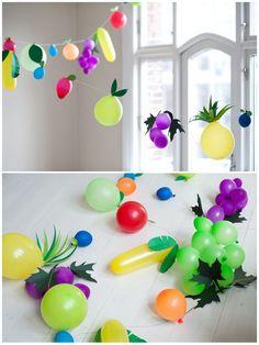 DIY fruit balloons look so 'berry' fun!