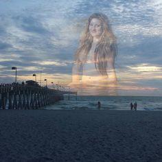 I got inspired by Salvador Dali paintings. Venice Beach Pier Sunset Remix :) #daydream #venicebeachfl #venicebeachpier #imagination #artsy #inanotherworld #sunsets #skyporn #SharkysonthePier #visitflorida #wanderlust #roadtrip #gulfcoast #getlost #lifesabeach #beachlife #dreamland #indreams