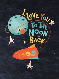 To The Moon - Chanie Kesselman-Brod - To The Moon To The Moon by Dave Mottram, via Behance -
