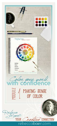 Become color proficient. Learn to mix target hues. Learn the truth about tertiary hues. Creative Connections, Acrylic Furniture, It's Wonderful, Color Theory, Creative Crafts, Online Courses, Watercolors, Stencils, Target