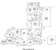 Cuore Di Leone House Plan - Best Selling - House Plan -  Archival Designs