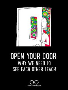 Although we work together, we usually follow parallel, rather than intersecting lines. We rarely ever actually see each other teach. We're missing out. #CultofPedagogy Cult Of Pedagogy, We Need, Professional Development, Teaching, Education, Learning