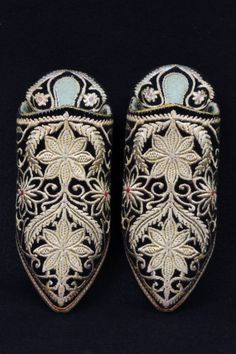 The Helen Louise Allen Textile Collection: Moroccan Slippers