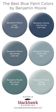 We& in love with these best six gray paint colors by Benjamin Moore The Best. The post The Best Gray Paint Shades by Benjamin Moore appeared first on Bruce Kennels. Best Gray Paint, Blue Gray Paint Colors, Paint Colours, Bluish Gray Paint, Wall Painting Colors, Gray Color Schemes, Best Paint Colors, House Color Schemes, Painting Walls