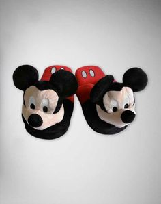 Mickey Mouse house shoes