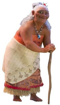 """Gramma Tala is a character in the upcoming 2016 animated feature film, Moana. Tala is Moana's grandmother. Like her granddaughter, she has a love for sea exploration, having come from an ancestry of South Pacific navigators. Described as the """"village crazy lady"""", Tala has a special connection to the sea and the legends passed throughout South Pacific generations. She shares this connection with Moana, and a relationship closer than her parents in some ways."""