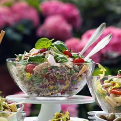 !!!Reissalat mit Thunfisch Easy Family Meals, Easy Meals, Healthy Salads, Summer Recipes, Serving Bowls, Cabbage, Fitness, Food And Drink, Low Carb