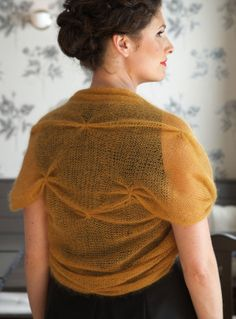 Knitting with Mohair Yarn – 20 free patterns – Grandmother's Pattern Book