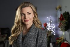 """Check out photos from the Hallmark Movies and Mysteries original movie, """"Nostalgic Christmas,"""" starring Brooke D'Orsay and Trevor Donovan. Brooke D'orsay, Trevor Donovan, Hallmark Movies, Original Movie, Hair Beauty, Actresses, Check, Christmas, Photos"""