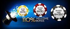Enjoy a Mega 110% WELCOME BONUS on your first-time deposit! FREE Registration! Sign Up Now!  万勿错过 新会员 110% 免费首存红利!  劲爆优惠 只在 www.royalewins.com