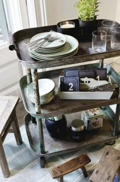 stylish patina, rough luxe market, industrial chic, virginia, vintage furniture, www.stylishpatina.com/roughluxe  vignette design: Industrial Chic