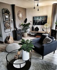 Home Living Room, Apartment Living, Living Room Designs, Living Room Decor, Apartment Kitchen, Decor Room, Bedroom Decor, Apartment Ideas, Apartment Therapy