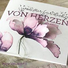 ein BlumenGruss der von Herzen kommt für einen besonderen Anlass oder einfach so eine schöne Art jemandem zu zeigen ...