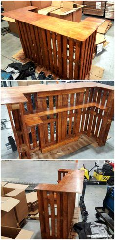 50+ Best-loved Pallet Bar Ideas & Projects | 101 Pallet Ideas - Part 2