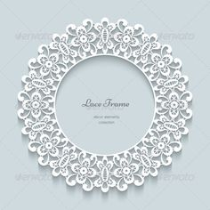 Buy Round Lace Frame by on GraphicRiver. Paper lace background, round vignette, ornamental lacy frame Contains blends and transparency for shadows, no gradien. Black And Silver Wallpaper, Lace Background, Paper Lace, Lace Decor, Lace Design, Vintage Paper, Vignettes, Quilt Patterns, Framed Art