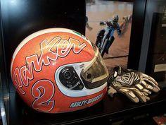 Scott Parker AGV helmet