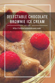 This chocolate brownie ice cream is rich, creamy, nutrient dense, and contains live enzymes that aid in digestion! It is also raw vegan, gluten-free, antioxidant-rich, boosts immunity, boosts brain power, and super easy to make! Click to see the full recipe or pin and save for later! FREE EBOOK INCLUDED!   via @viktoriyaandoks