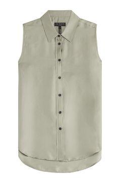 RAG & BONE Silk Blouse. #ragbone #cloth #tops