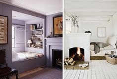 Love these reading nooks