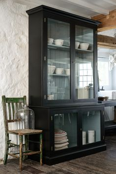 The brand new Curiosity Cupboard by deVOL was designed with the 'old museum' display cabinets in mind