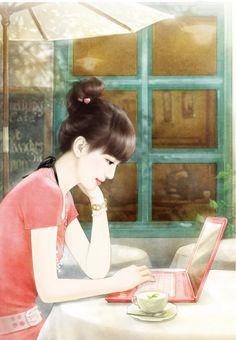 Painting Girls