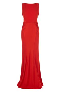 With a fitted bodice and alluring plunging back, this stunning gown is perfect for a sleek and elegant look. The Adelise Maxi Dress ensures a perfect silhouette with a cinched in waist, contouring seams and fishtail hem. The dress is fully lined for effortless wearing and is 134.5cm/53 inches long from underarm to hem. Height of model shown: 5ft 9inches/175cm. Model wears: UK size 10.