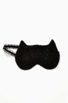 Slick Kitty Reversible Sleep Mask