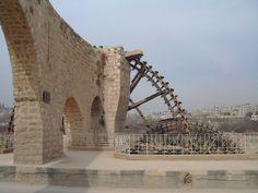 An Ancient Bridge. Now On Main Road. Hama Syria.