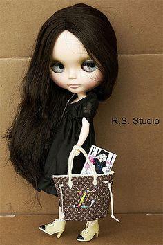 Louis Vuitton bag for blythe | LV handmade bag for 1/6 doll | Flickr