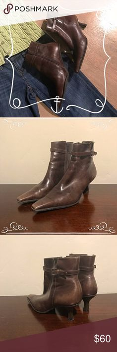 Antonio Melani Brown Boots These boots have some signs of wear (see pictures) but are still very fashionable! ANTONIO MELANI Shoes Ankle Boots & Booties