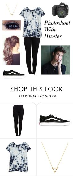 """Photoshoot with Hunter Rowland💕"" by magcon-fangirl-7 ❤ liked on Polyvore featuring beauty, Pieces, Vans, Current/Elliott, Wanderlust + Co and Canon"